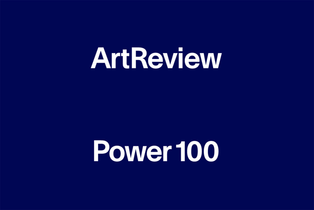 ArtReview Power 100 2019