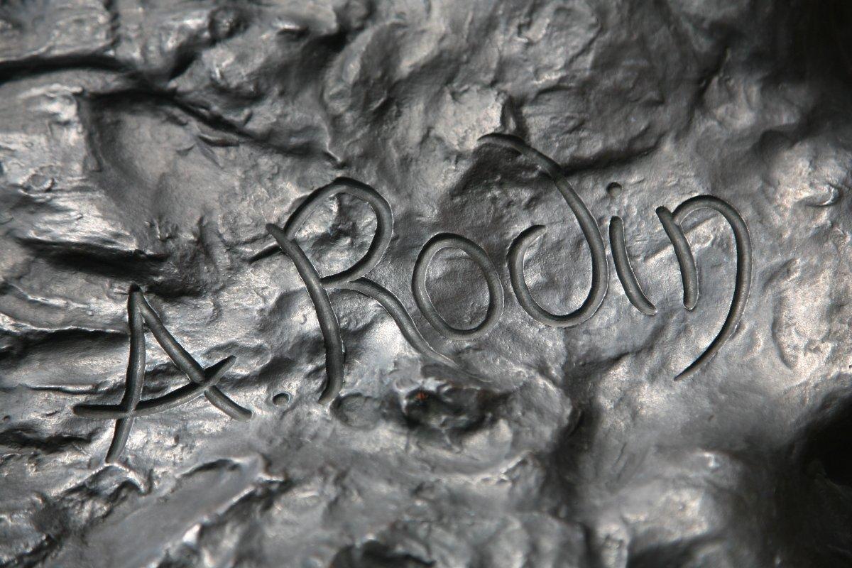 Auguste Rodin signature, via wikimediaorg
