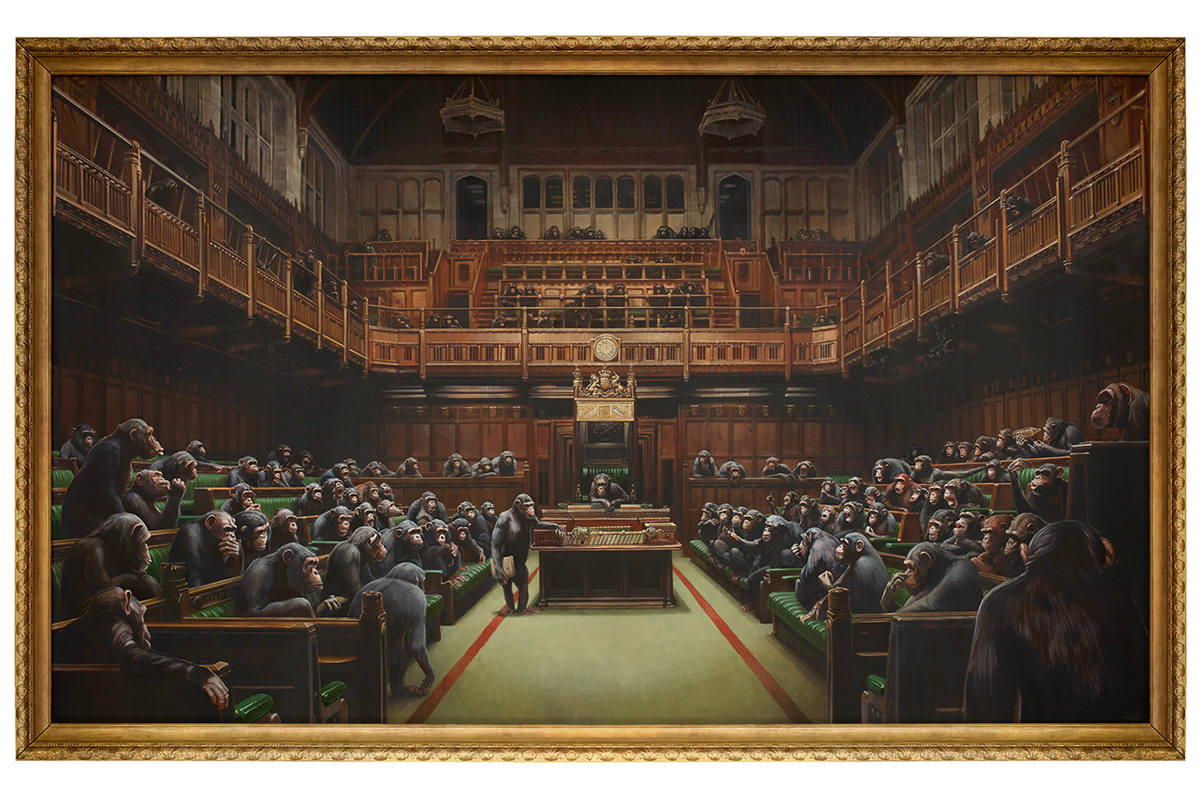 Banksy - Devolved Parliament