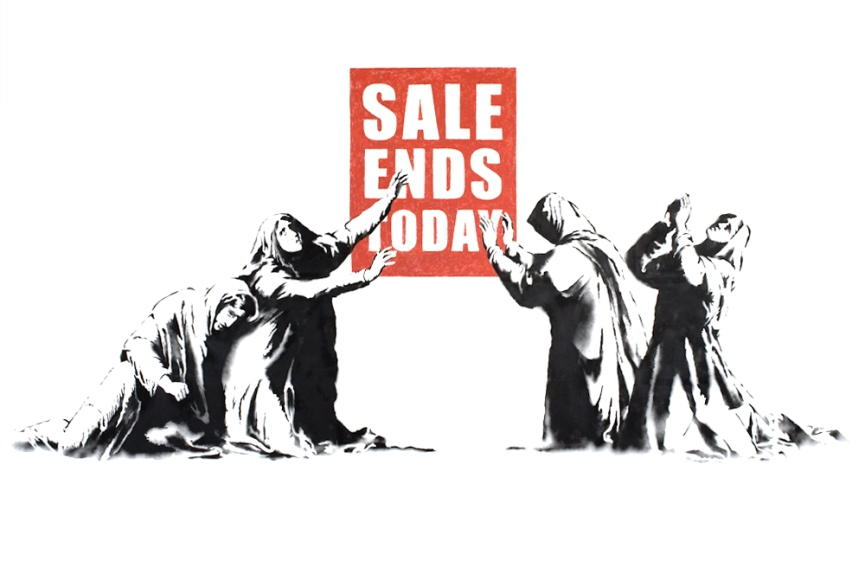 Banksy - Sale Ends, 2006 (lot 89)