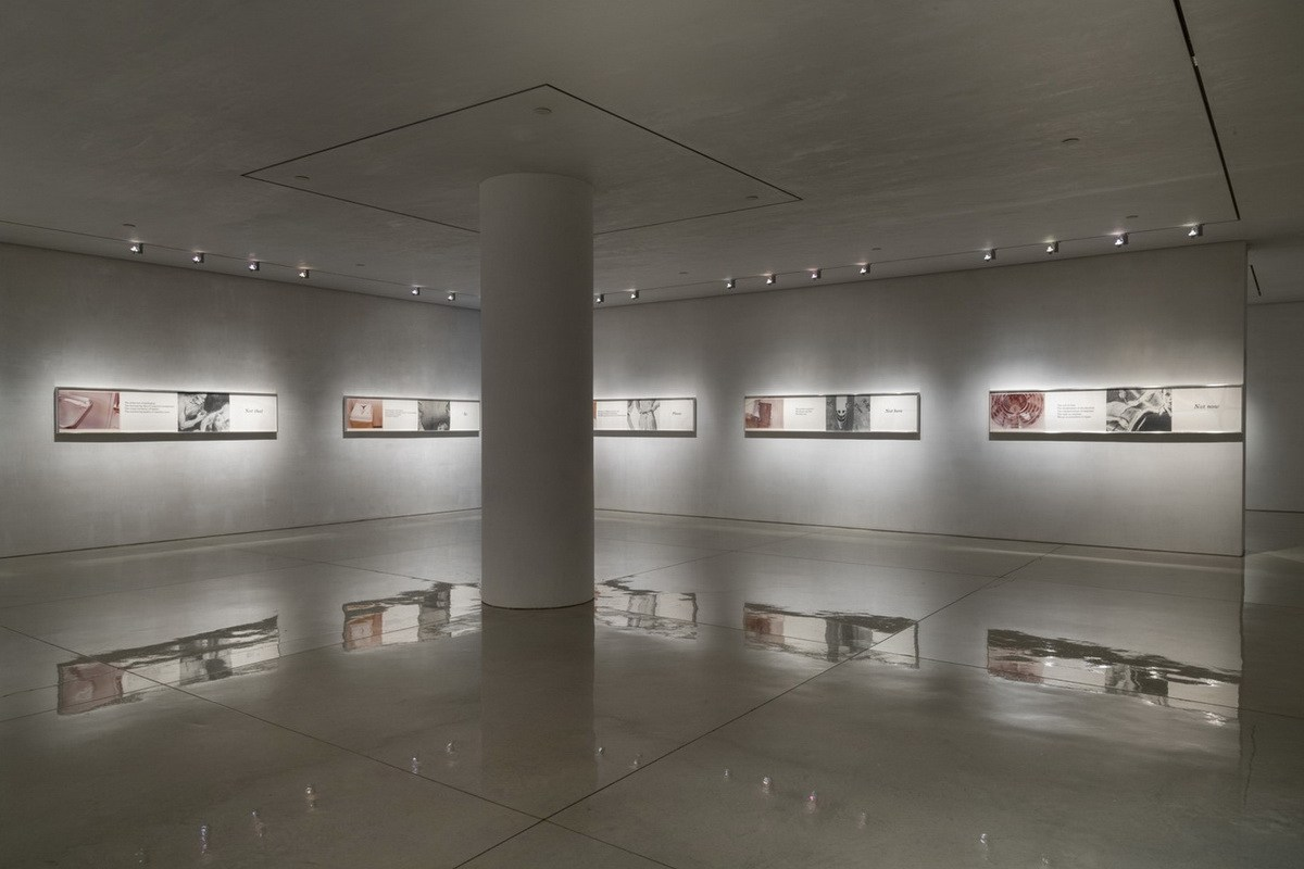 Barbara Kruger 1978 – Installation View at the Mary Boone Gallery