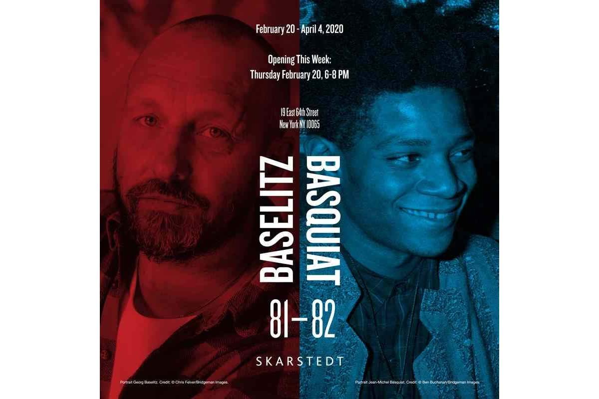 Baselitz Basquiat 1981-1982 Skarstedt