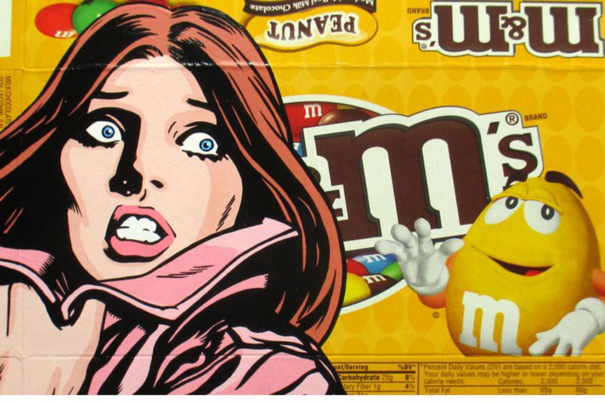 Ben Frost - May Contain Traces of Nut, detail, 2015