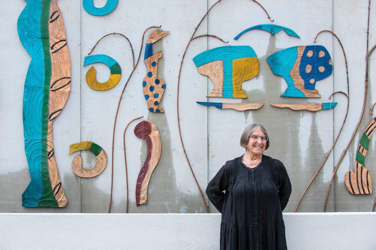 Betty Woodman, Liverpool Fountain, 2016. Liverpool Biennial 2016. Photo Joel Chester Fildes