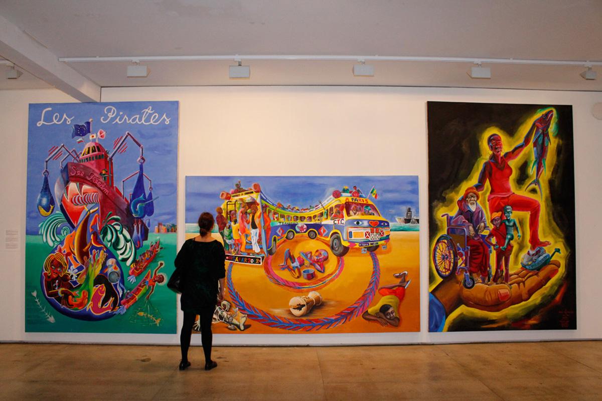 Dak'art 2018 - The Biennial of Dakar in the Red Hour | Widewalls