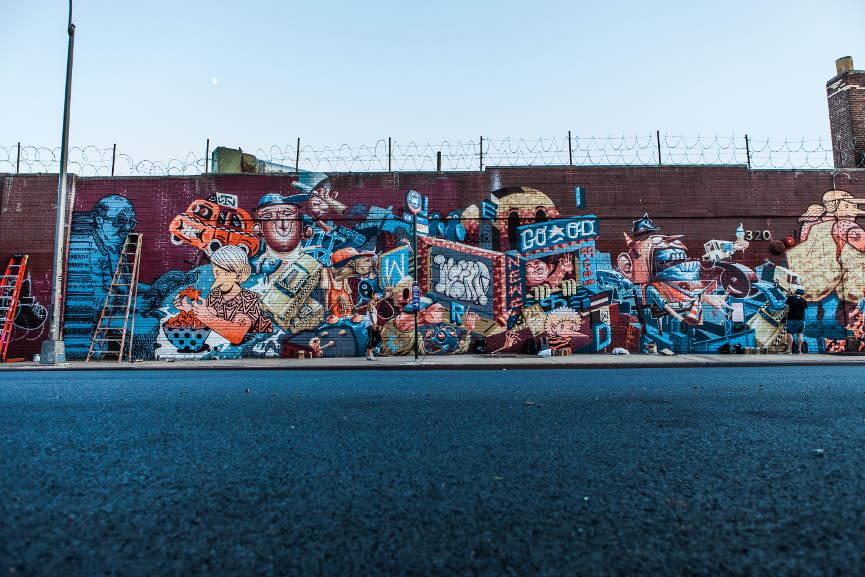 Brooklyn Mural, photo by Steve Conrad