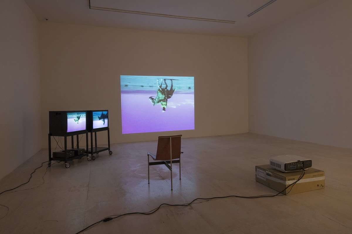 Bruce Nauman- Disappearing Acts Installation view___