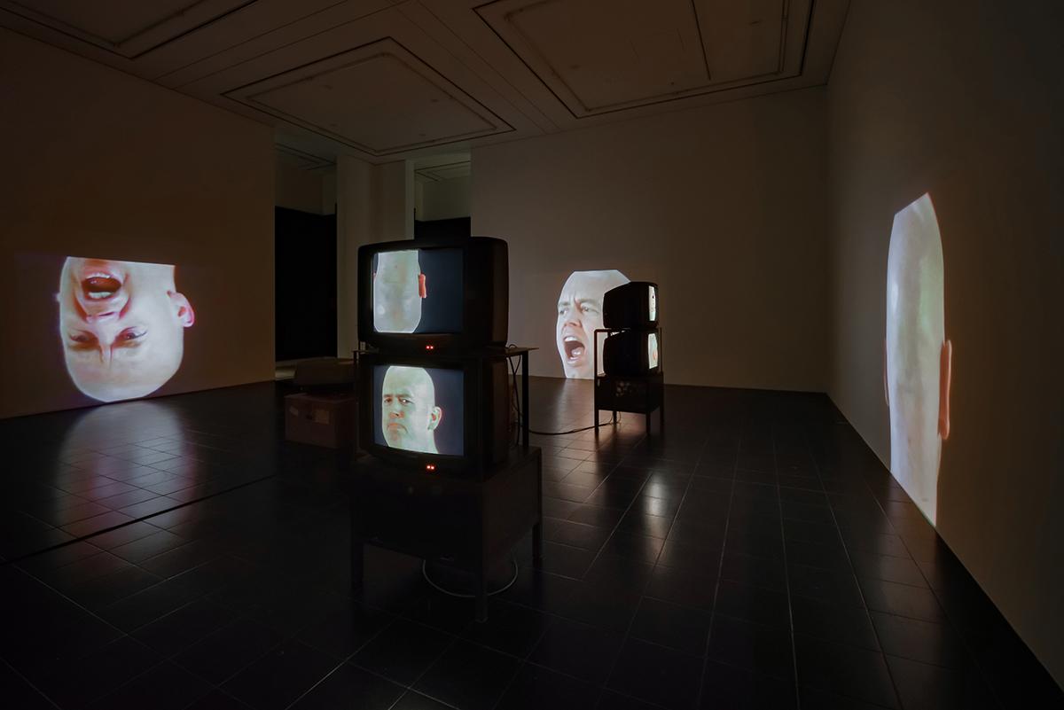 Bruce Nauman - Anthro / Socio (RindeSpinning),1992