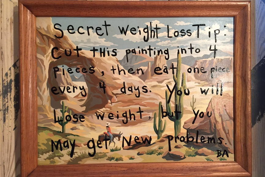 Butch Anthony Secret Weight Loss Tip