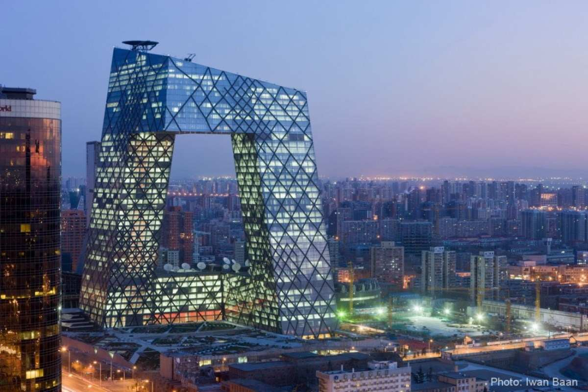 CCTV Headquarters in Beijing (via buro-os.com)