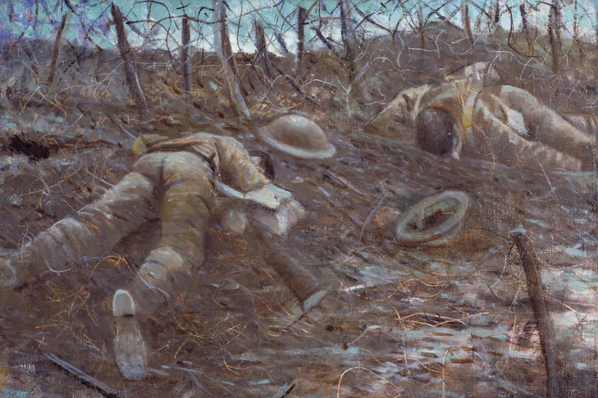 CRW Nevinson - Paths of Glory 1917