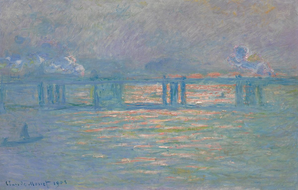 Claude Monet - Charing Cross Bridge, 1903 f