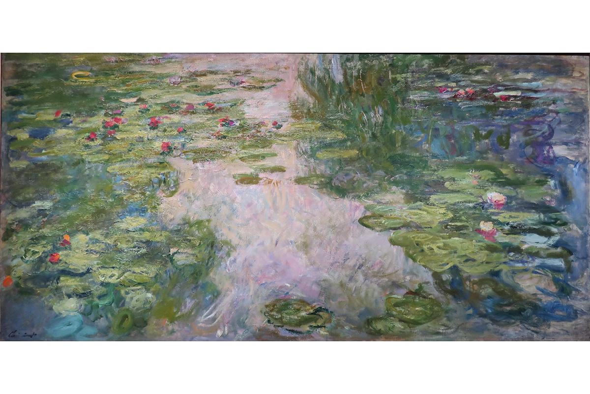 Claude Monet - Water Lilies, between 1917 and 1919