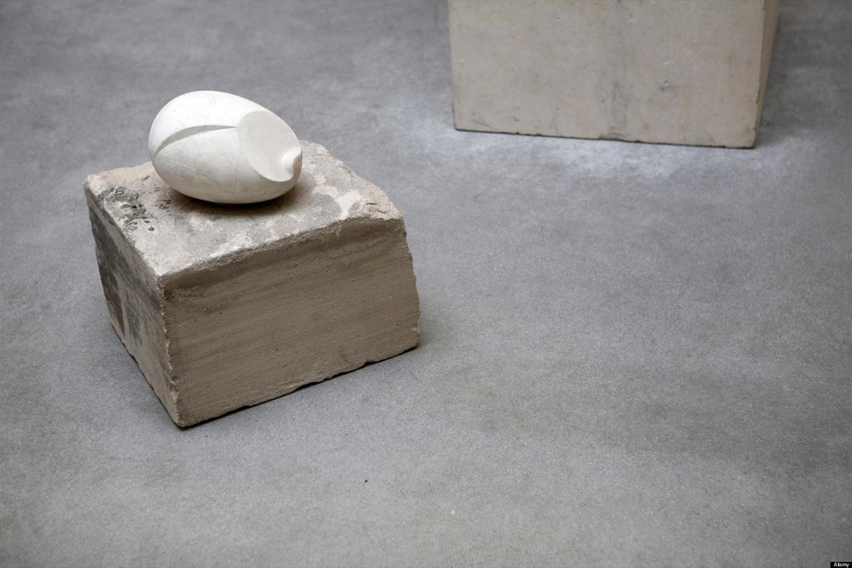 Constantin Brancusi - Newborn, via Huffington Post