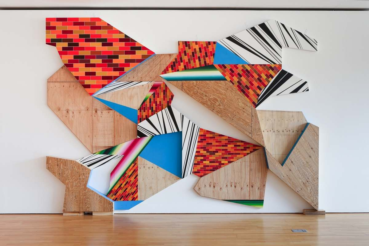 Courtesy WW Contemporary - Kyung Hwa Shon, Psychogeographic Contemporary Abstract Landscapes, 2013
