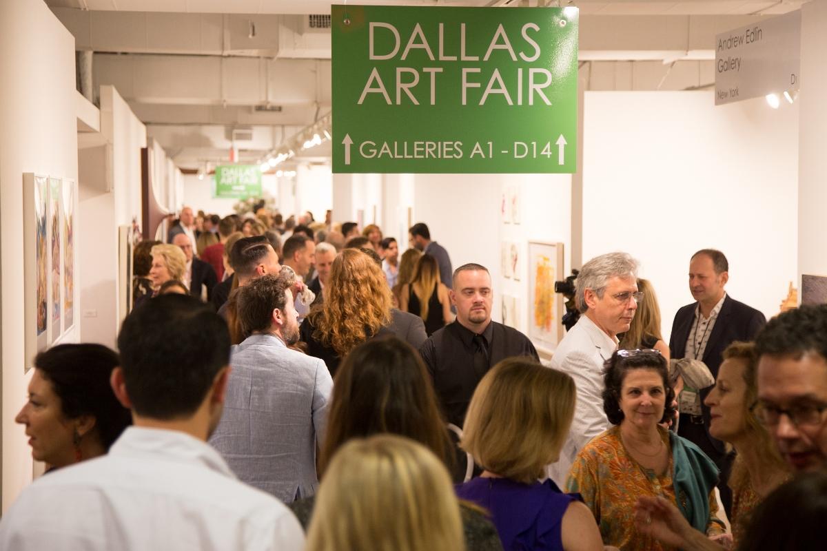 Dallas Art Fair. Photographer: Kelly Taub/BFA