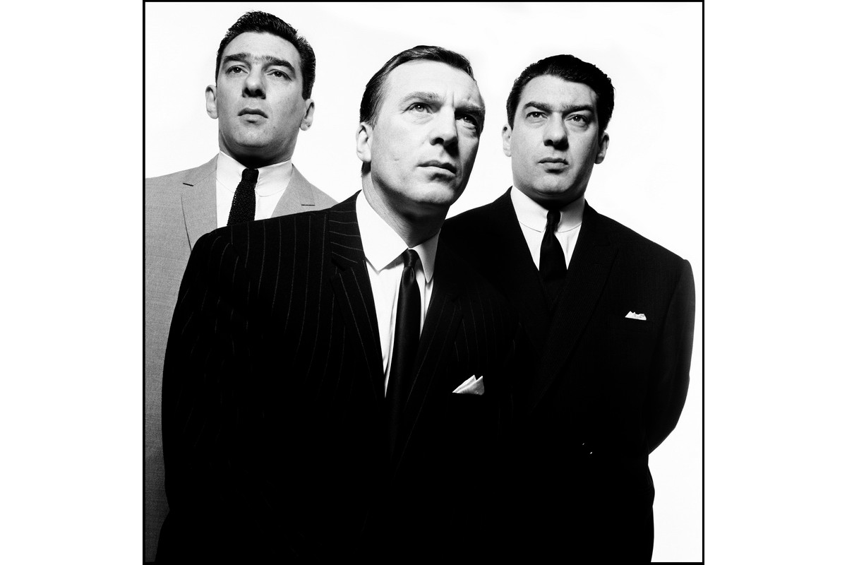 David Bailey - The Kray Brothers