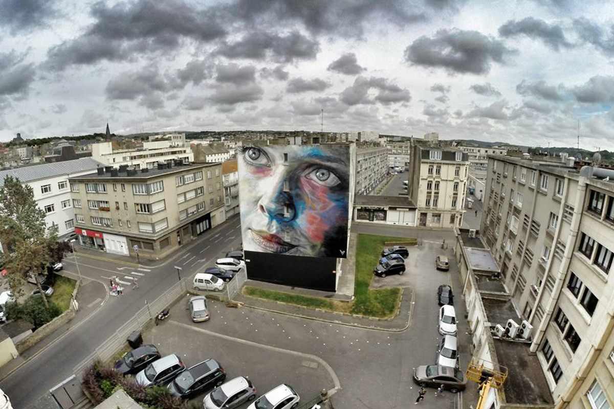 David Walker - Mural in Boulogne-sur-mer