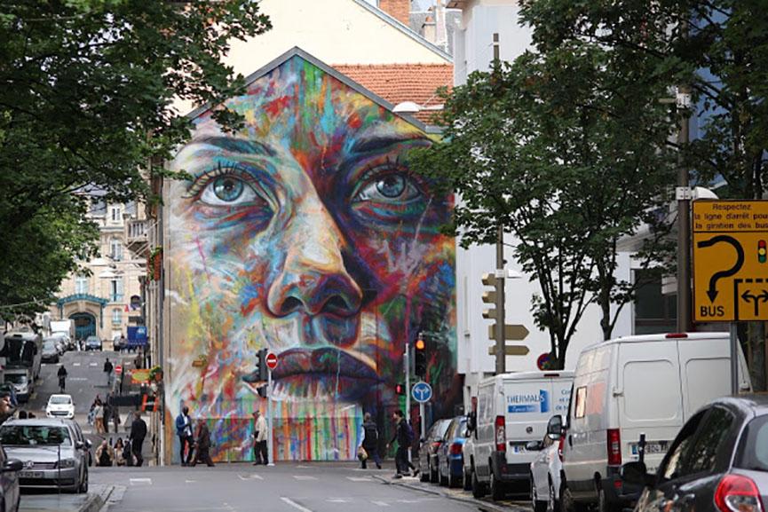 David Walker in Nancy, France