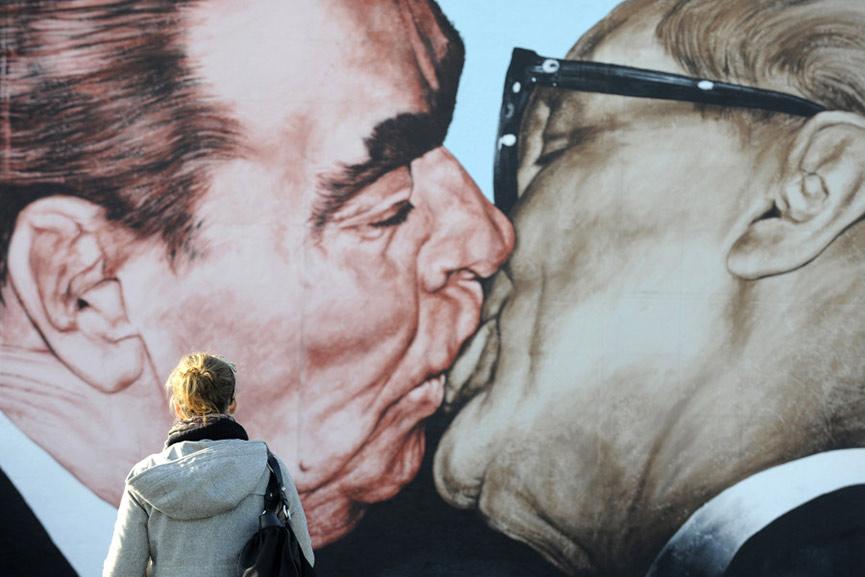 Dmitry-Vrubel---Fraternal-Kiss,-Triptych