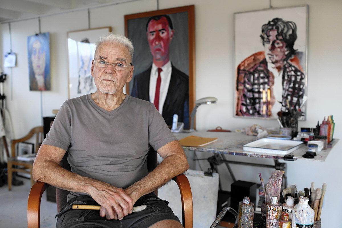 Don Bachardy. Image via latimes