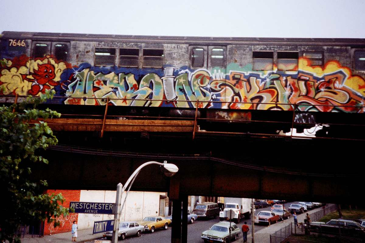 Dondi White & Zephyr - Heroin Kills Train Car