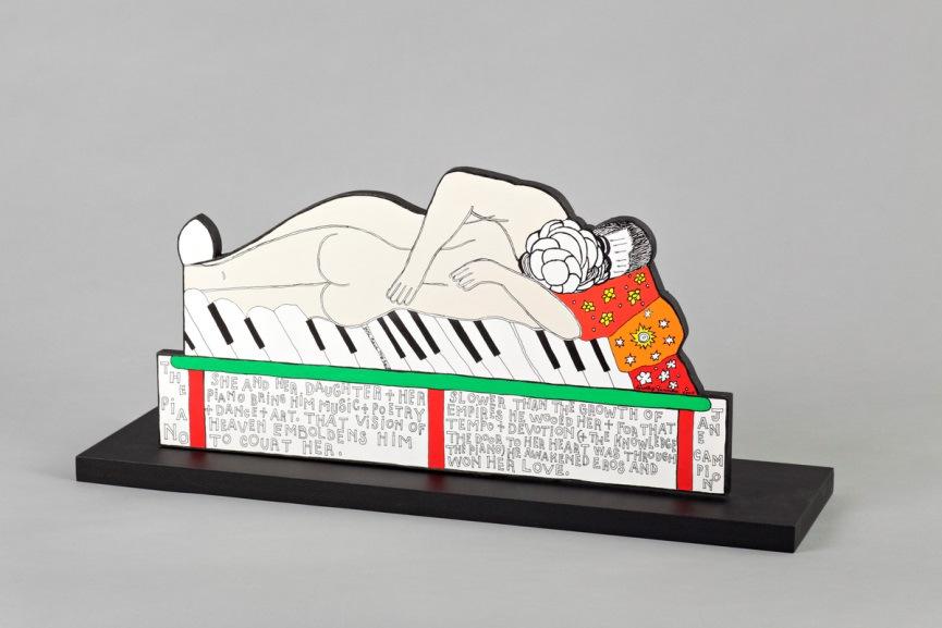 Dorothy Iannone -The-Piano - 2009