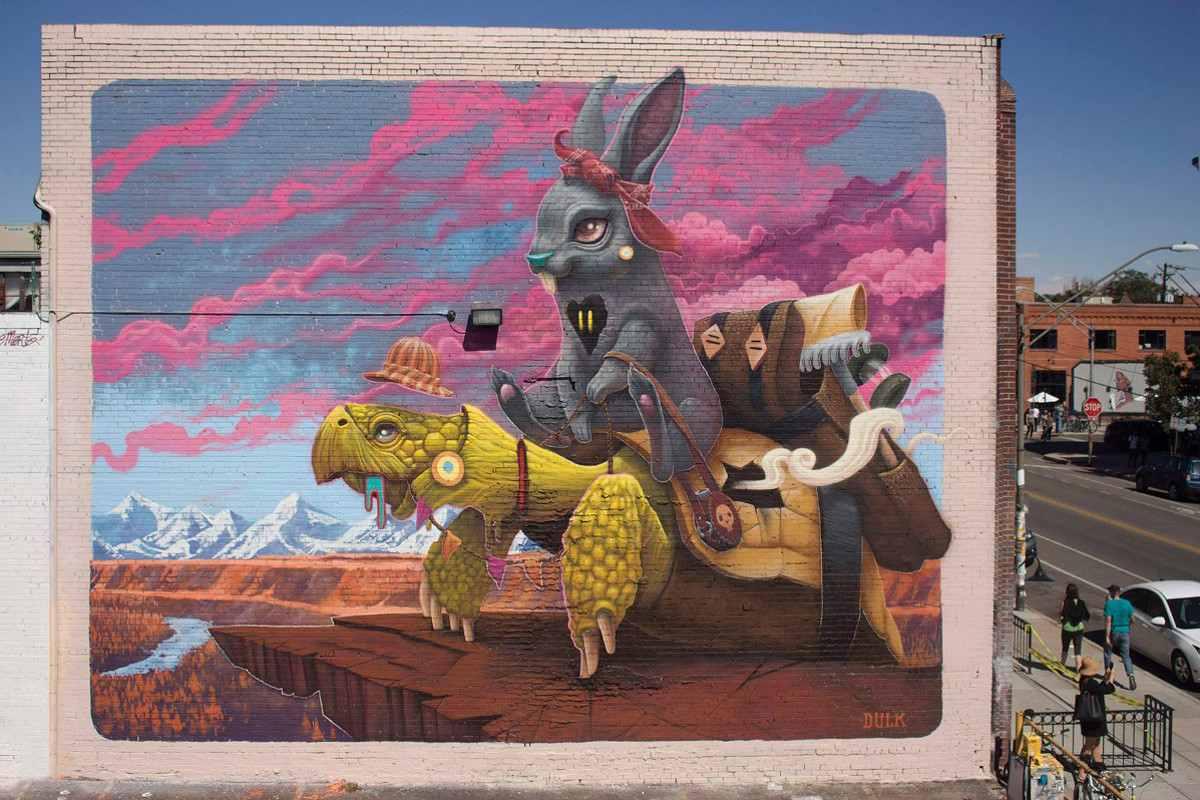 Dulk - The Tortoise&Harriet via street art news