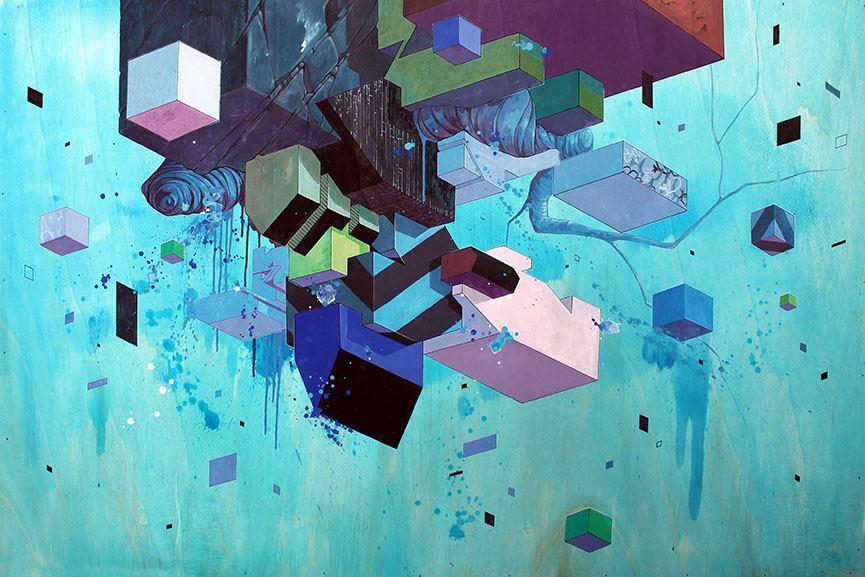 ETNIK - Floating City 1. Vertical Gallery. 2015