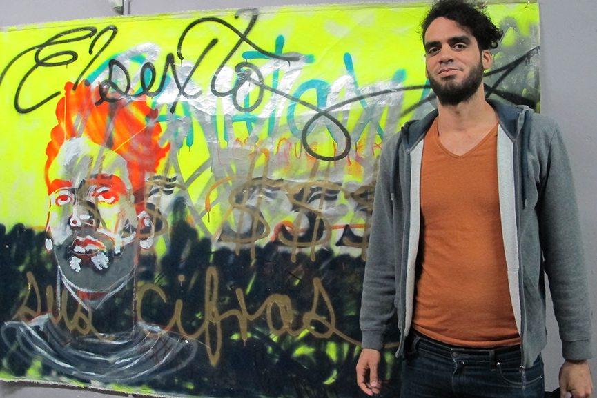 Danilo Maldonado aka El Sexto portrait. Photo via voiceproject.org