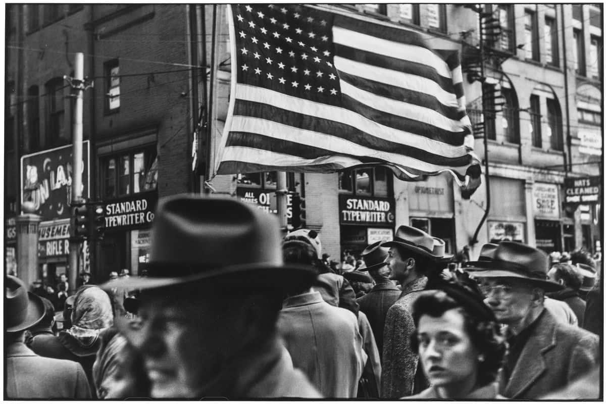 Elliott Erwitt - Armistice Day Parade, Pittsburgh 1950