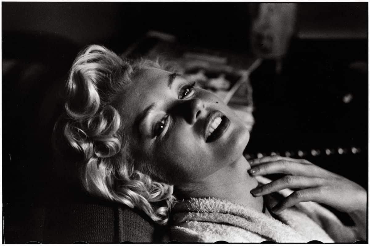 Elliott Erwitt - Marilyn Monroe, New York, 1956