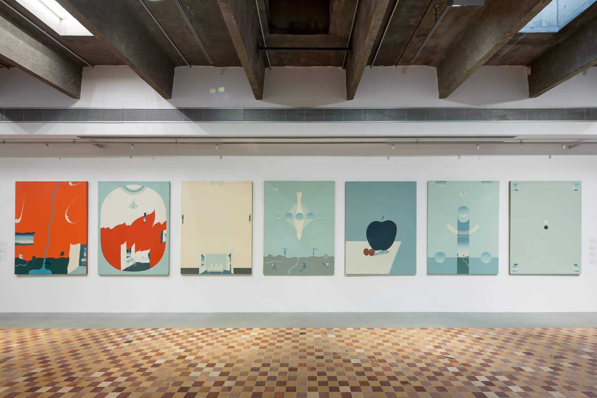 Exhibition of Viktor Pivovarov at Garage Museum of Contemporary Art, via oalexeyenko.com