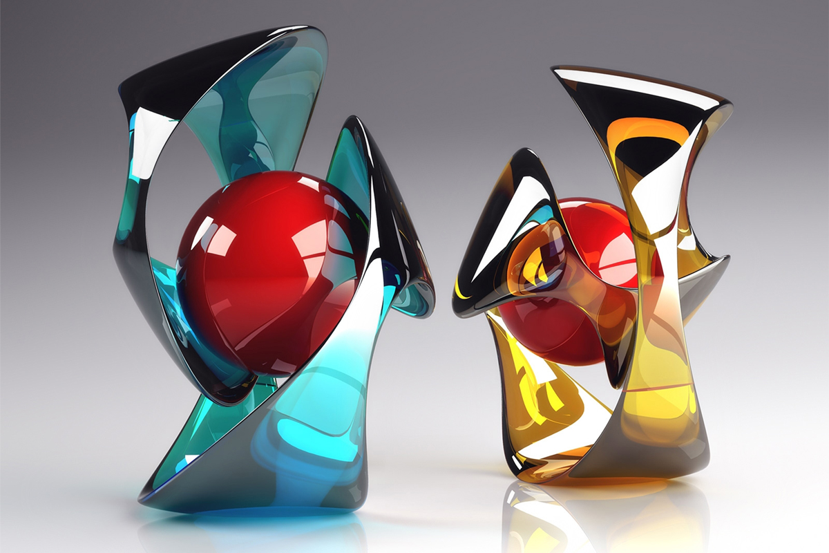Featured - 3D Crystal Glass Art - Image via Pinterest.com