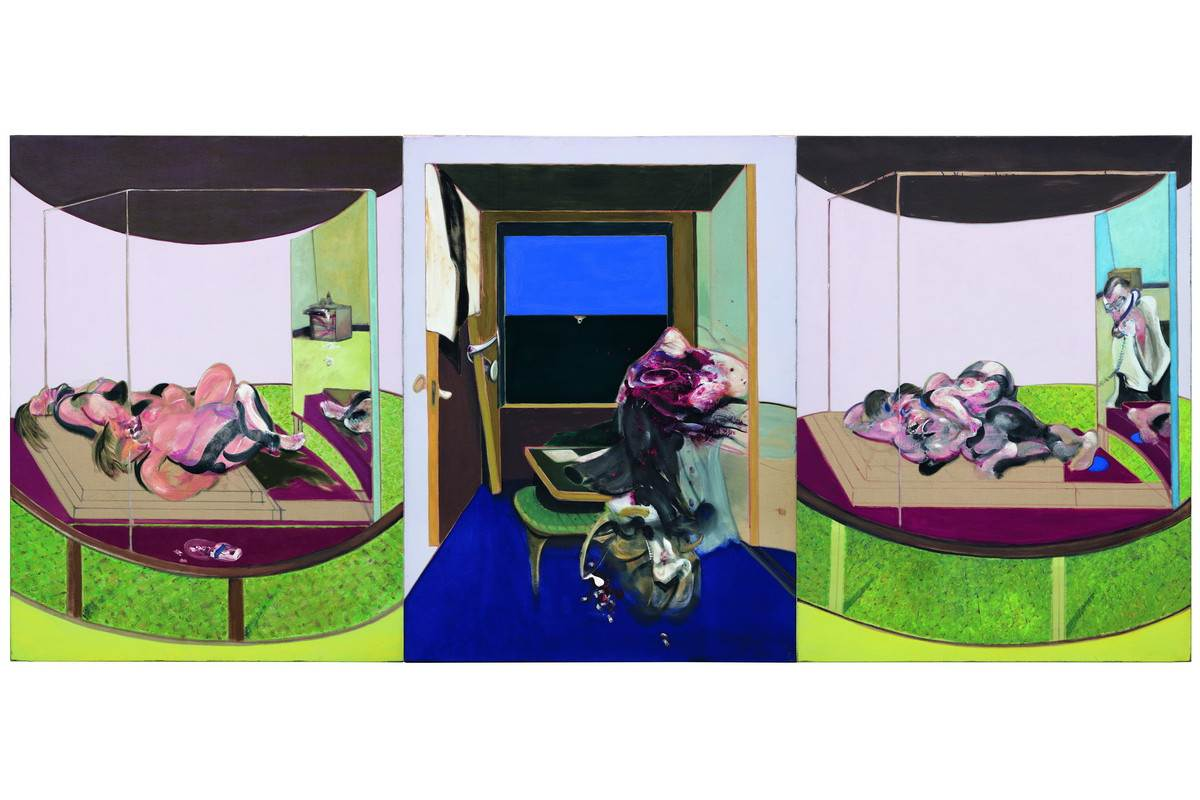Francis Bacon - Triptych inspired by T Eliots poem