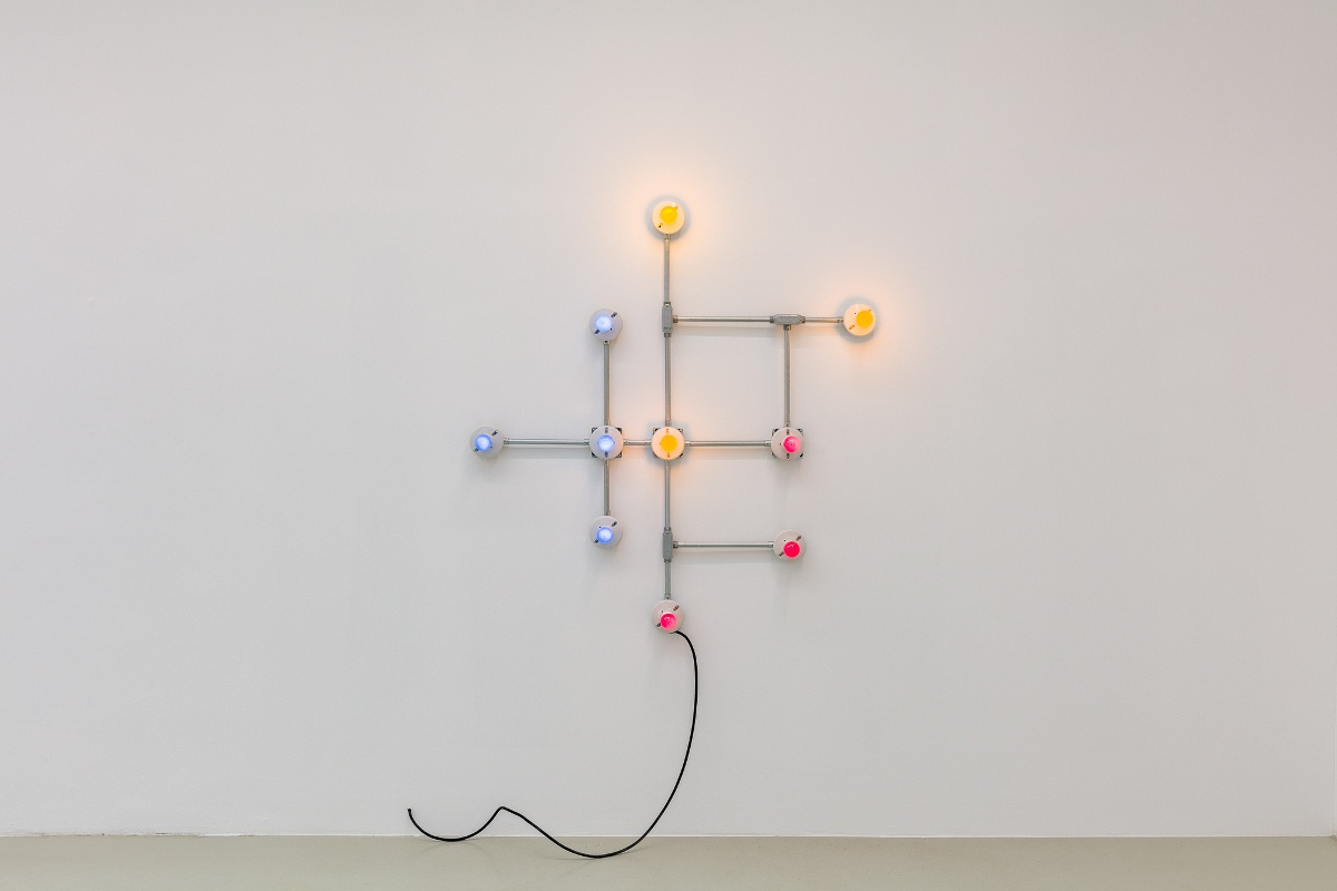 G.T. Pellizzi - Conduits in Red, Yellow and Blue (No Signal 4), 2020