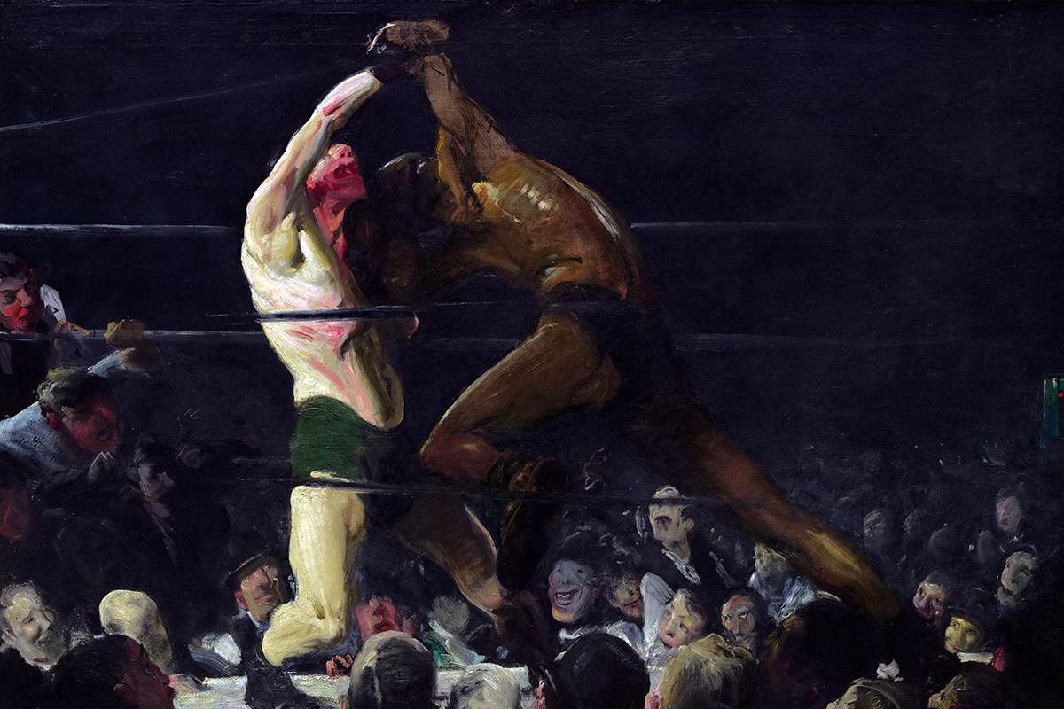 George Bellows - Both Members of This Club