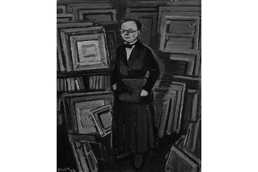 Georges Kars - Portrait of Berthe Weill, 1933