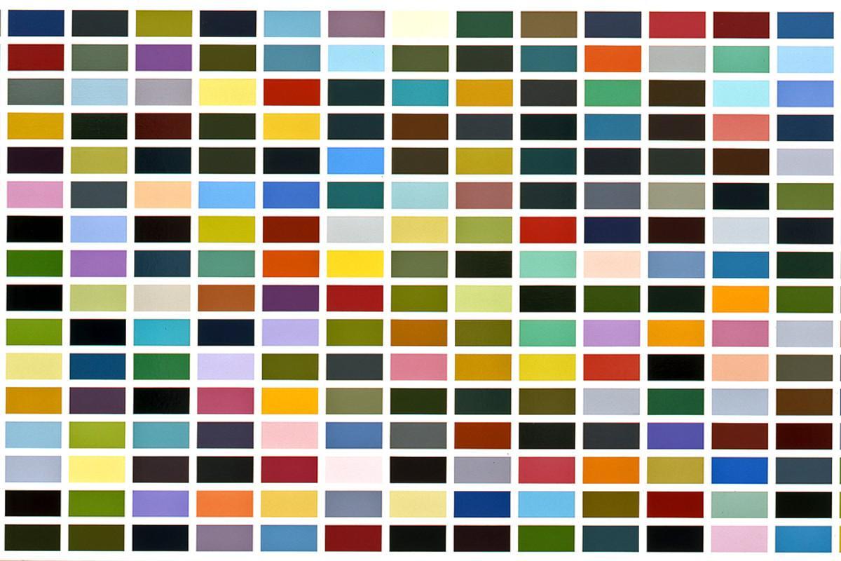 Gerhard Richter - 256 Farben, 1974