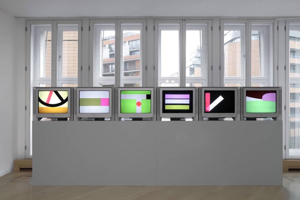 Gerwald Rockenschaub - Six animations - 2002 (Daimler Art Collection)