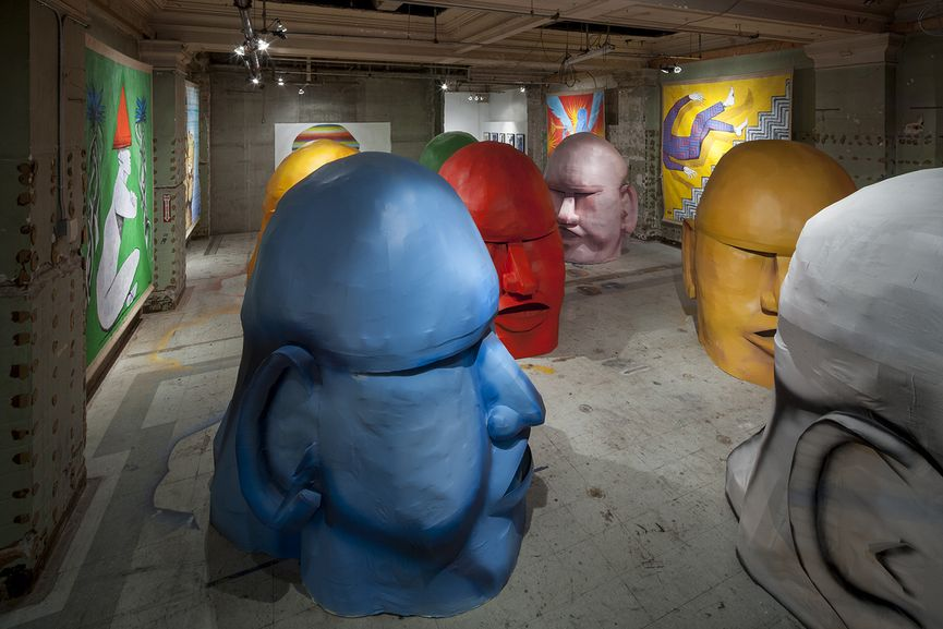 Giacomo Bufarini, Man Is God, 2015, Courtesy Howard Griffin Gallery (2)