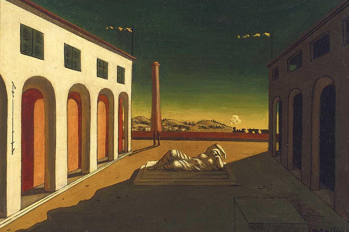 Giorgio de Chirico - Melancholia, 1916