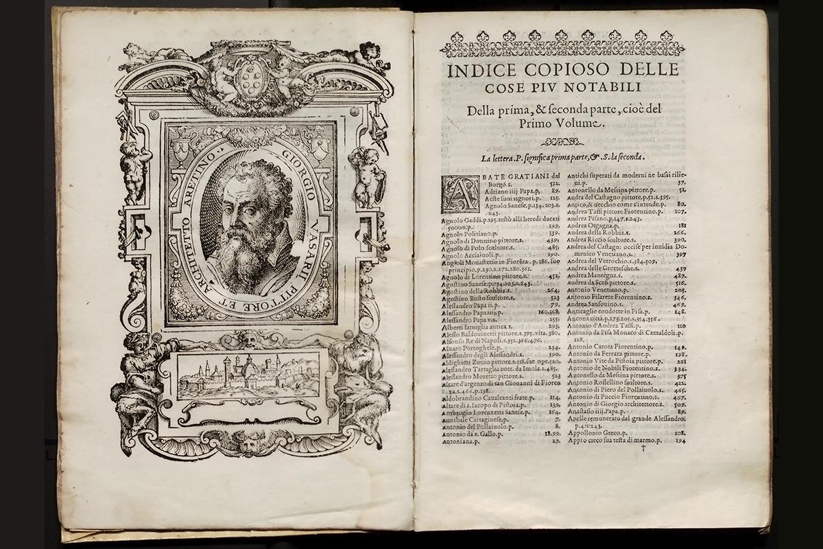 Giorgio Vasari - Le vite de' piu eccellenti pittori scultori e architettori, Florence 1568