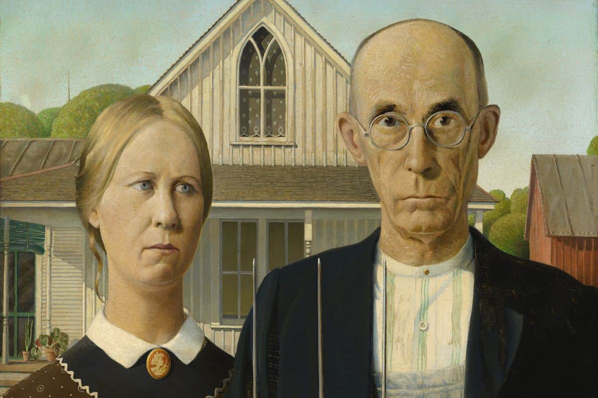 American Gothic - The Story Behind Grant Wood's Iconic Painting | Widewalls