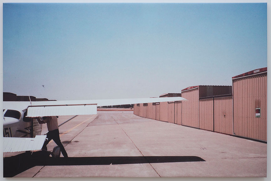 Grear Patterson - Walt Wing, 2014, UV print on vinyl, 48 x 72 in, Courtesy of the Artist and Marlborough Broome Street