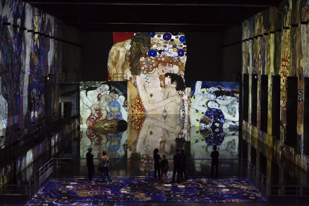 Gustav Klimt Gold and Colour Installation view