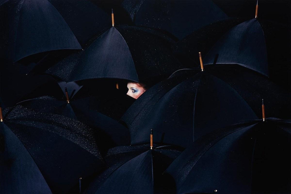 Guy Bourdin - French Vogue, Dec 1976 - Jan 1977, (lot 29)