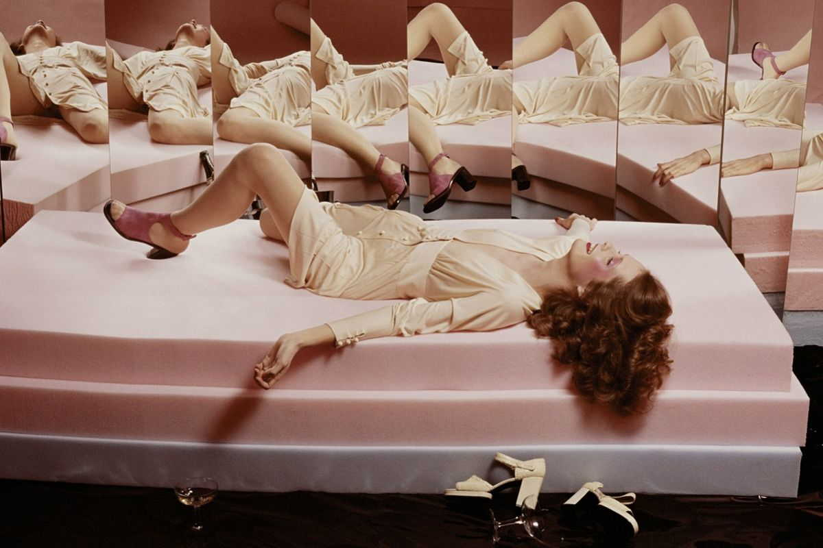 Guy Bourdin for Vogue 1972, via louise-alexander com