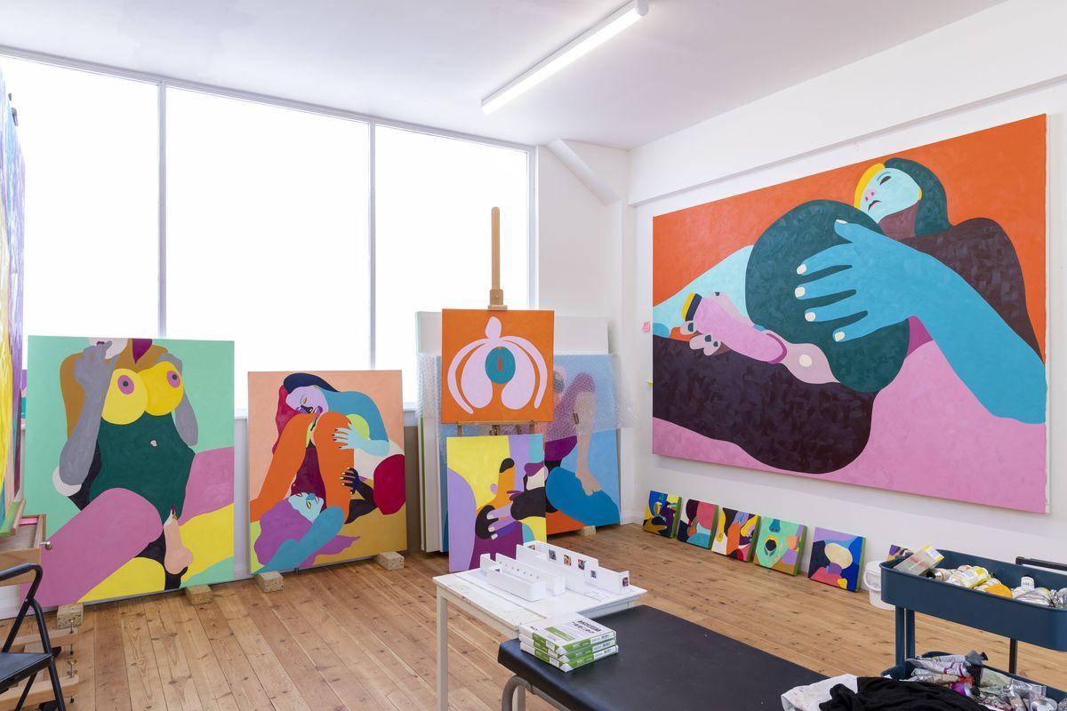 Helen Beard Studio. Credit Lucy Emms (2)