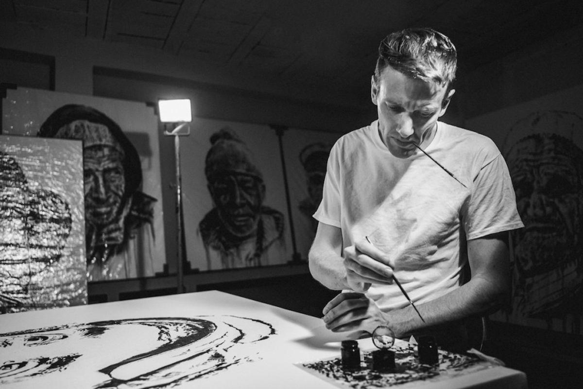 Hendrik Beikirch in studio ©Robert Winter